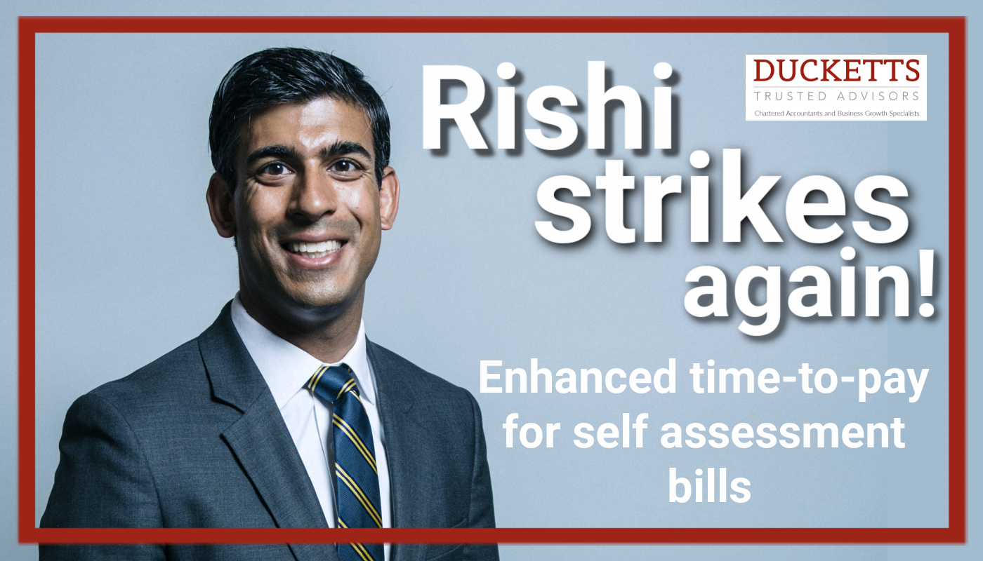 Rishi Strikes Again!