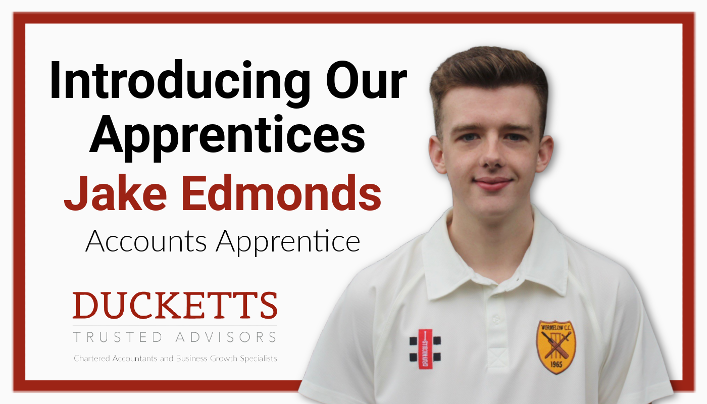 Introducing Our Apprentices - Jake Edmonds