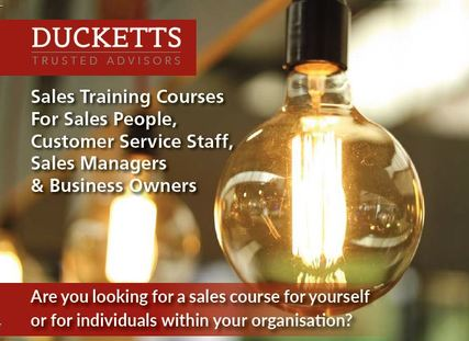Sales Training Courses For Sales People, Customer Service Staff, Sales Managers & Business Owners